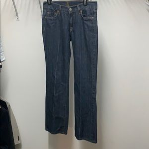 7 For all Mankind Jeans size 28, Bootcut